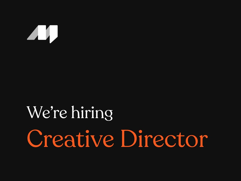We're Hiring Creative Director director creative hiring hire