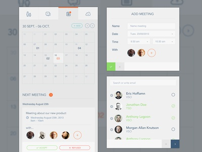 Calendar Modal user chat outline icon ui ux modal meeting calendar meet agency me