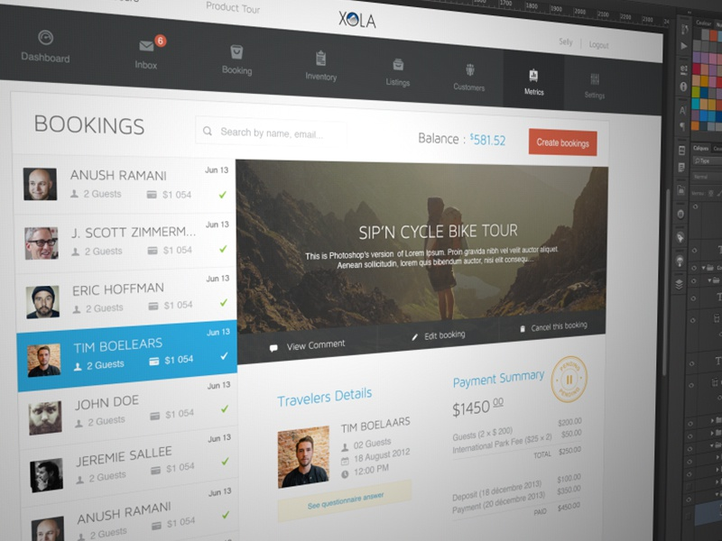 Booking Page Redesign booking page redesign xola picture website responsive ui ux agenceme stamp travelers