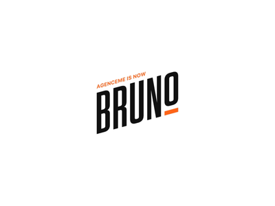 🚨AgenceMe is now Bruno 🚨 identity brand new name california animation logo agenceme rebrand agency bruno