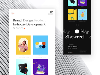 🤘 Bruno is live identity branding popular shot popular identity design branding agenceme agency animation landing website home live bruno