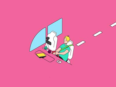 Ocodigo Illustrations isometry identity branding brand motion illustrations animation