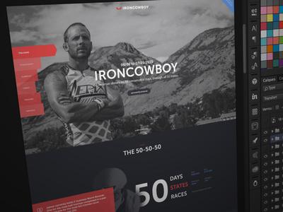 Sponseasy Template sponseasy sponsorship proposal template sport ironman course menu dar ui ux bike