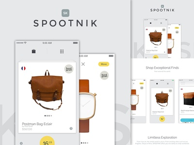 Spootnik App On Behance