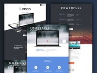 Sneak Peek Lecco Wordpress Theme