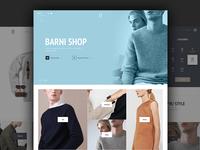 Barni E-shop Coming