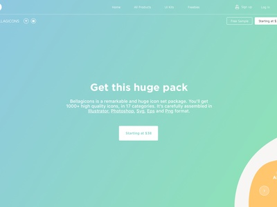 Bellagicons is here market me launch product ui ux new freebie platform template uikit icons