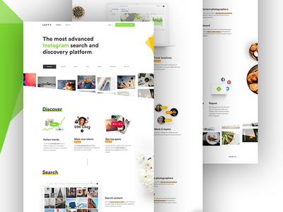 Product Page home landing colour gradient ui ux desktop mobile me tuto app
