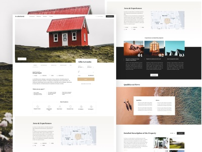 LeCollectionist study case agency booking houses home experiences travel ux ui collectionist