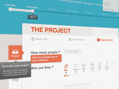 New Project me agency project saas process solution team dashboard