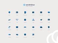 Icons Set - Sendinblue
