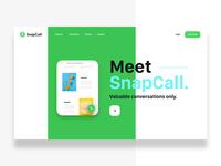 SnapCall Home Page
