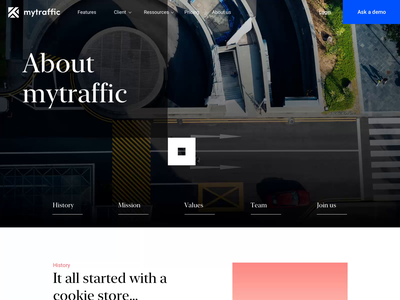 About Mytraffic motion animation website brand identity branding brand agency me ux ui