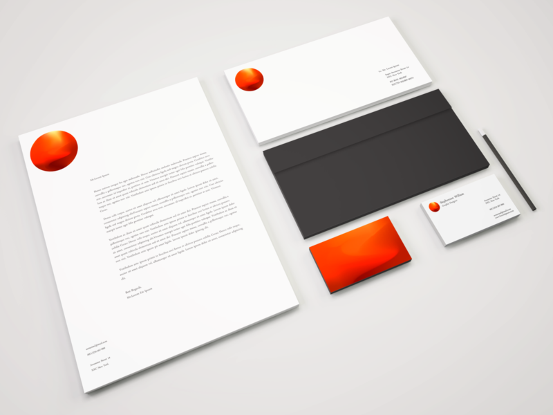 Branding Stationery Sahara logo icon branding design