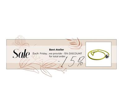banner for e-comerce jewelry shop fresco e-commerce jewelry design illustrator photoshop branding logo figma web ui  ux banner