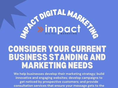 Consider Your Current Business Standing and Marketing Needs