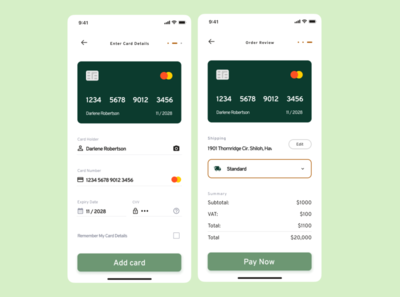 Credit Card Checkout ui design dailyui mobile mobile design credit card checkout credit card daily ui daily100challenge dailyuichallenge