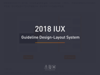 2018 IUX Guideline Design - Layout System