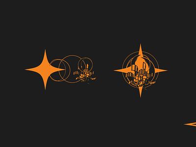 Kalideskop - Surreall Illustrations surreal art design vector simple minimalistic minimalism logo