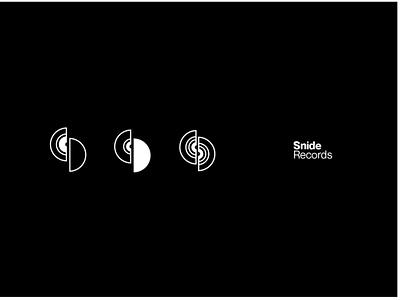 Snide Records - Concept One logo branding record label music minimalist logo design simple minimalistic icon minimalism