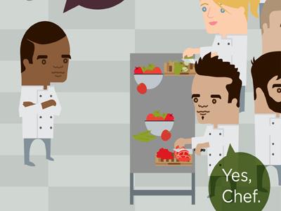 Chefs illustration