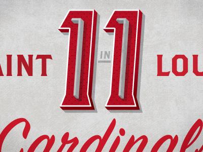 11 in 11 saint louis stl cardinals world series 11 baseball