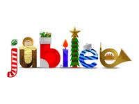 Jubilee Christmas Postcard