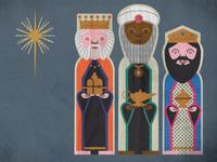 Nativity (3 king character development)