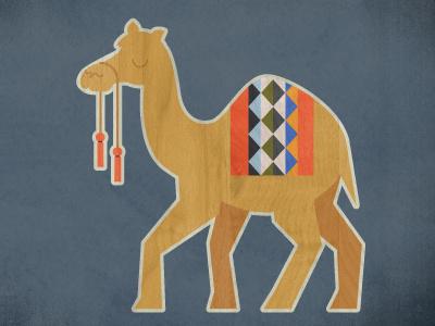 Nativity (camel) camel texture nativity pattern illustration
