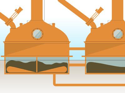 Masher illustration process