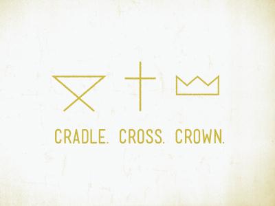 Cradle  cross  crown
