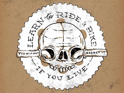 Bikesploitation 3 bikesploitation memphis bikes skull hand drawn mark twain