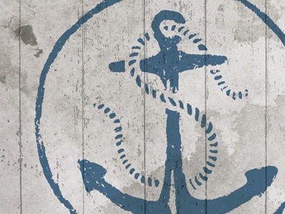 New Logo Concept anchor rope hand drawn