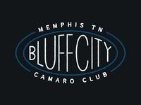 Bluff City Camaro Club Logo
