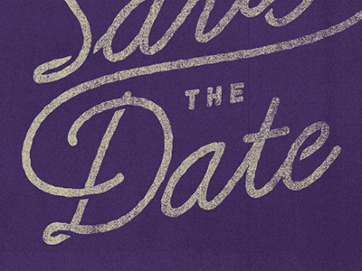 Save the Date Typography save the date wedding typography hand drawn