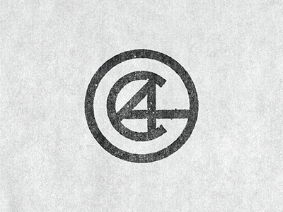 AC logo personal branding hand drawn