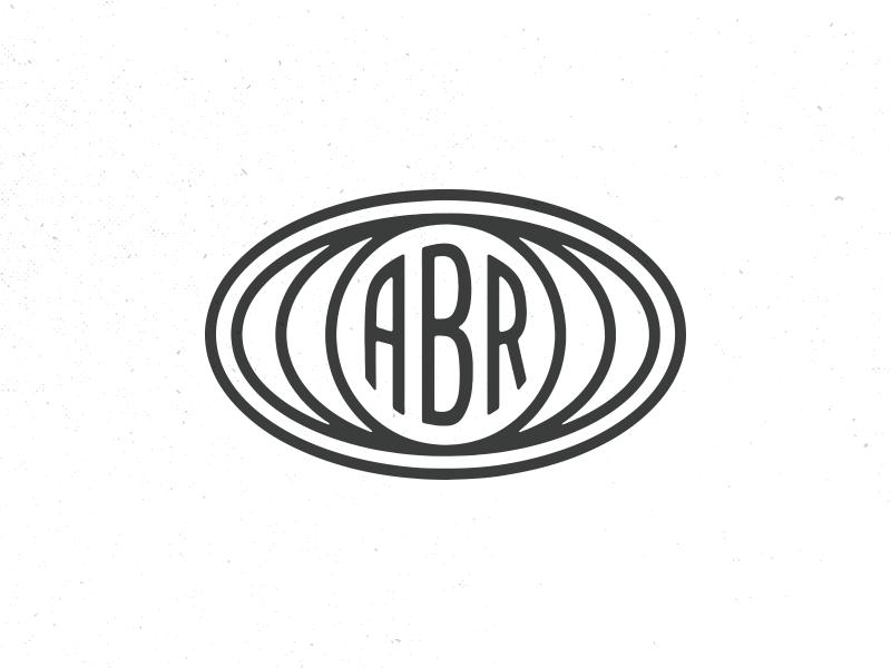 ABR Logo v1 abr hand-drawn hand drawn illustration logo audiophile recordings