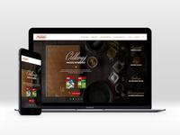 Prymat website redesign concept