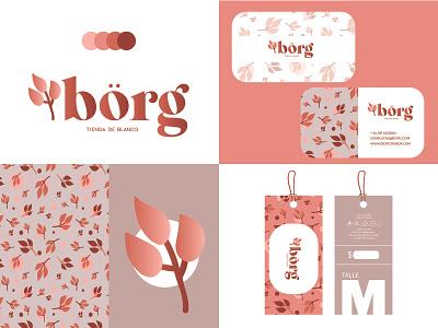 BÖRG vector icon branding logo design
