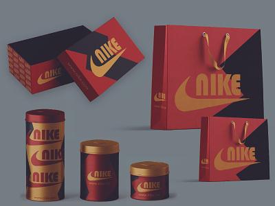 Nike Rebranding packaging mockup packagingpro packaging design sneakers nike shoes boxes packaging nike air max nike packaging nike branding logo mockup graphic design design