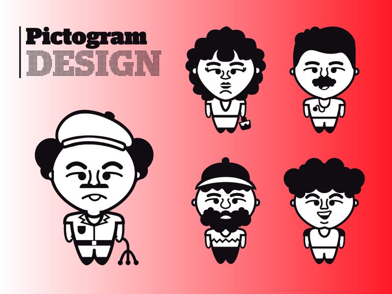 Pictograms designing pictogram design picto pictograms pictos pictogram vector illustration graphic design design