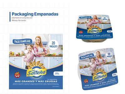 Packaging Empanadas la salteña empanadas packaging design packagedesign package packaging designing mockup graphic design design