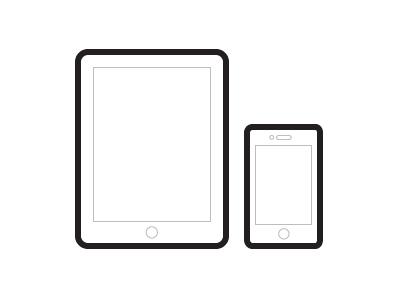 Fatty iPad/iPhone Vectors by Zack Smith - Dribbble