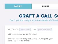 Good Call script