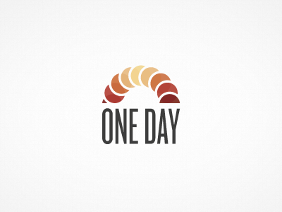 One Day 2 logo circle concept