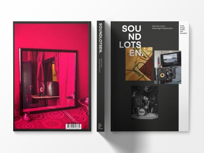 SOUNDLOTSEN. typography art direction editorial book cover book