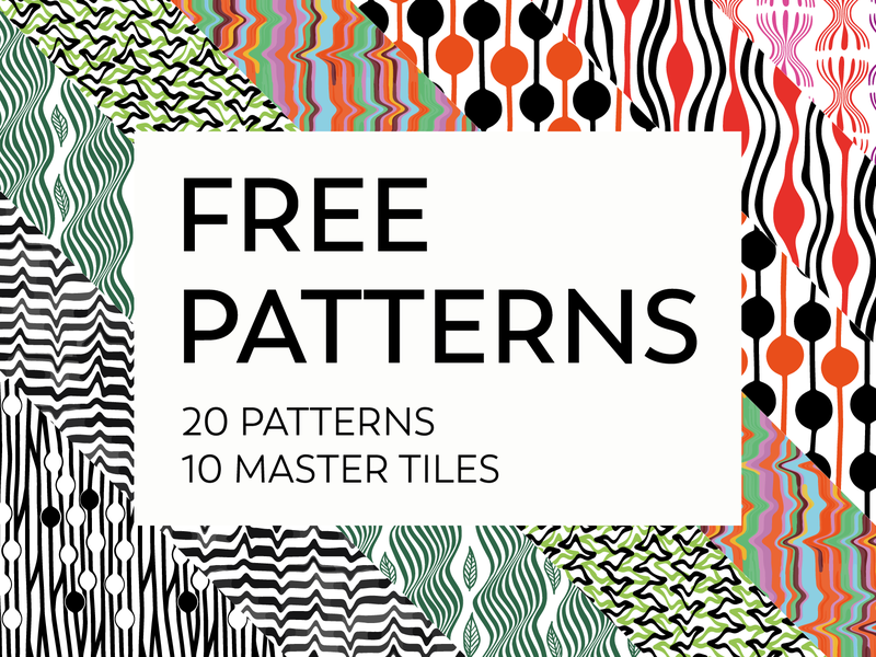 Free patterns fashion branding procreate patterns free