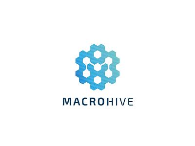 Macrohive computers logo databank data ai macro hive