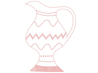 Vase Doodle photoshop doodle illustration vase