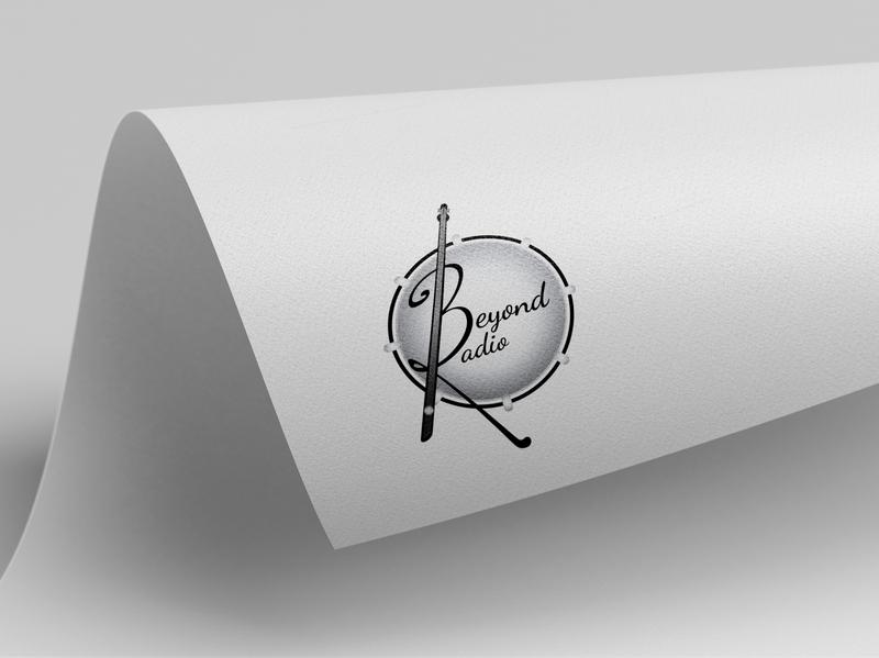 music company logo typography type minimal logo lettering flat illustrator illustration design branding